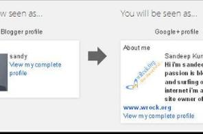 How to link/replace your blogger or blogspot profile with Google+