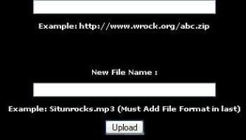 PHP Url File Remote Uploader No Size Limit [Script]