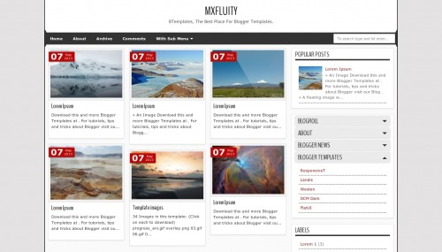 mxfluity-blogger-template