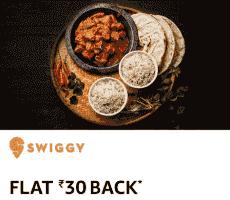 Amazon Swiggy Rs 30 Cashback