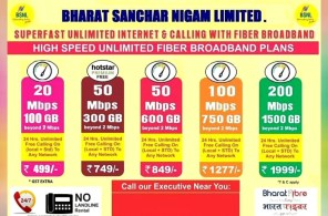 BSNL 200Mbps 1500GB FTTH Plan Extended to More Cities
