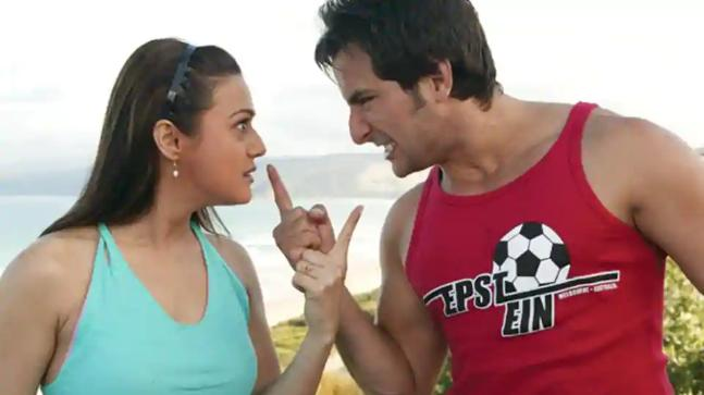 When Preity Zinta wanted to kill Saif Ali Khan on Salaam Namaste ...