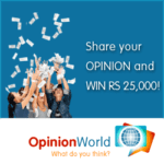 (Guide) OpinionWorld Survey: Steps To Get Free Cash And Flipkart Vouchers