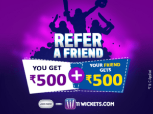 11Wickets App Referral Code & Apk Download