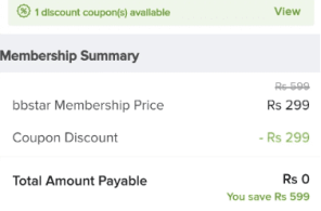 Big basket Membership Free