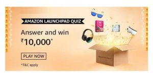 Amazon Launchpad Quiz Answers