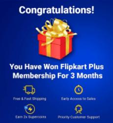 Flipkart Plus Membership Free