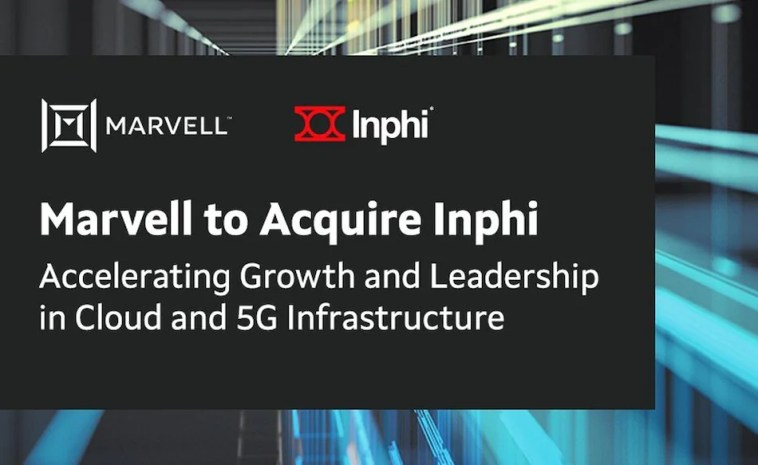 Marvell to Buy Inphi in $10 Billion Chip Deal to Bolster Data Centre, 5G Business