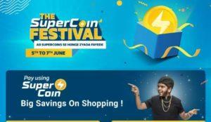 Flipkart Supercoins Festival