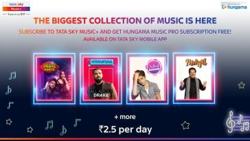 Tata Sky Music, Music+ Subscribers to Get Free Hungama Music Pro Subscription: How to Avail