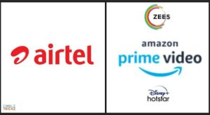 Airtel Prepaid Plans With OTT Subscriptions