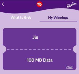 Jio Madbury Offer - Free Internet Trick