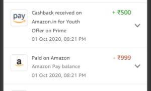 Amazon Prime Membership Loot