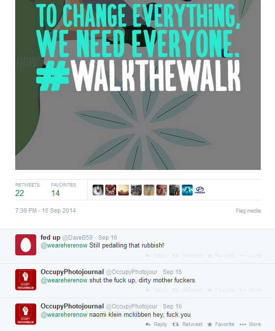 Best WalktheWalk Tweets