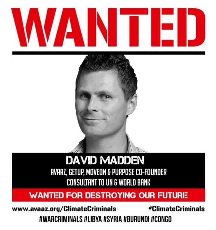 WANTED DAVID MADDEN FUTURE