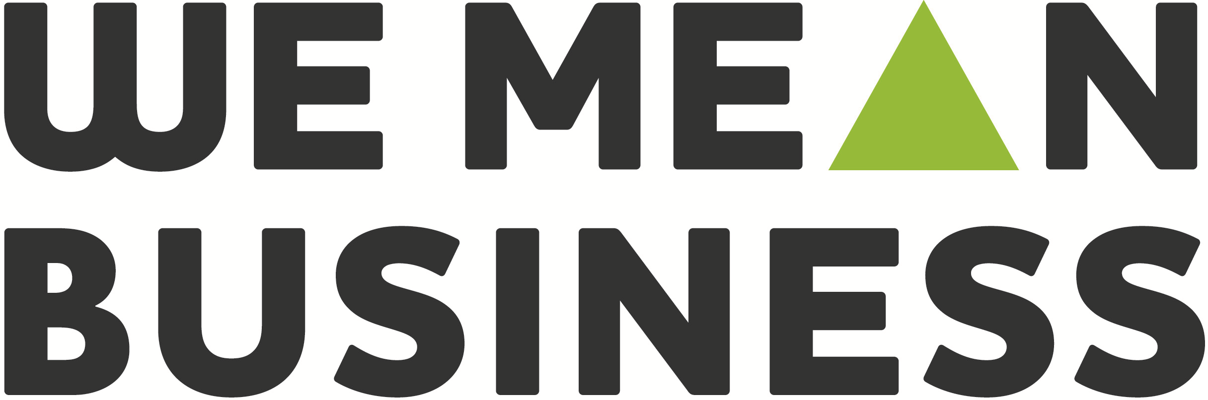 We Mean Business Logo