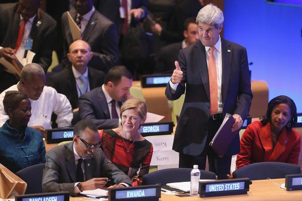 John+Kerry+Paul+Kagame+President+Obama