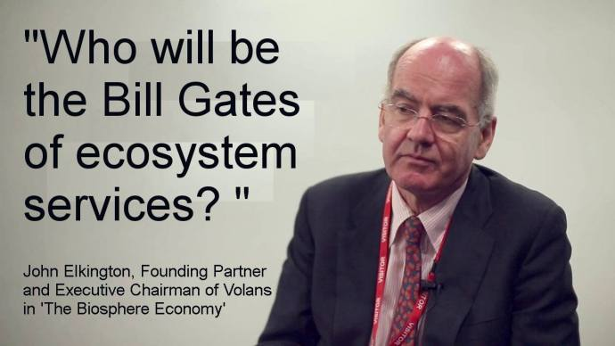 John Elkington, founder of Volans, B Team expert and Extinction Rebellion Business Signatory