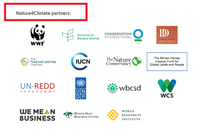 Nature4Climate partners