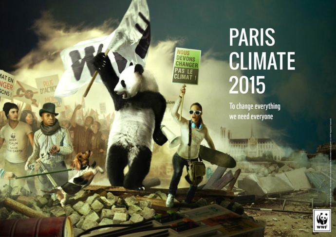 "2015, WWF, Paris: ""To Change Everything We Need Everyone"""