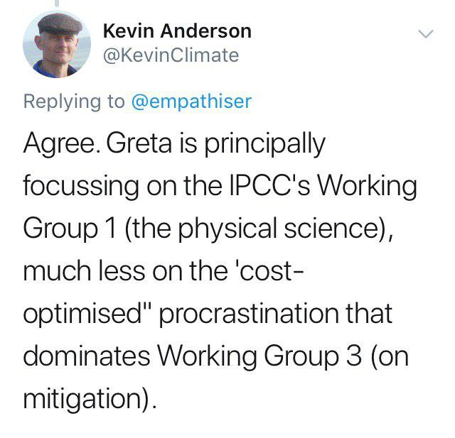 Kevin Anderson is Professor of Energy and Climate Change, holding a joint chair in the School of Engineering at the University of Manchester and in Centre for Sustainability and the Environment at Uppsala University