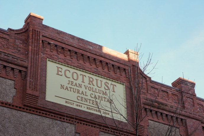 """After a century as a hub for the goods of the industrial economy, our building has become a focal point for a new economy in which ""Natural Capital"" — the flow of goods and services from nature — is our measure of prosperity and resilience.""The 70,000-square-foot Natural Capital Center also houses Ecotrust's headquarters and a mix of nonprofit and business tenants gathered around the themes of ecological forestry and fisheries, green building, technology and financial investment. Patagonia, the outdoor clothing company known for its environmental ethic, is our retail anchor, working in its largest retail outlet anywhere."""