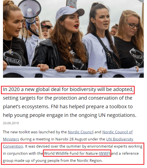 "September 20, 2019: ""It was the Nordic Council Sustainability Committee who initially came up with the idea of an initiative targeting the youth, and the idea was immediately supported by the Nordic Council of Ministers for the Environment."""