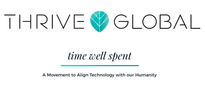Time Well Spent merges with Thrive Global