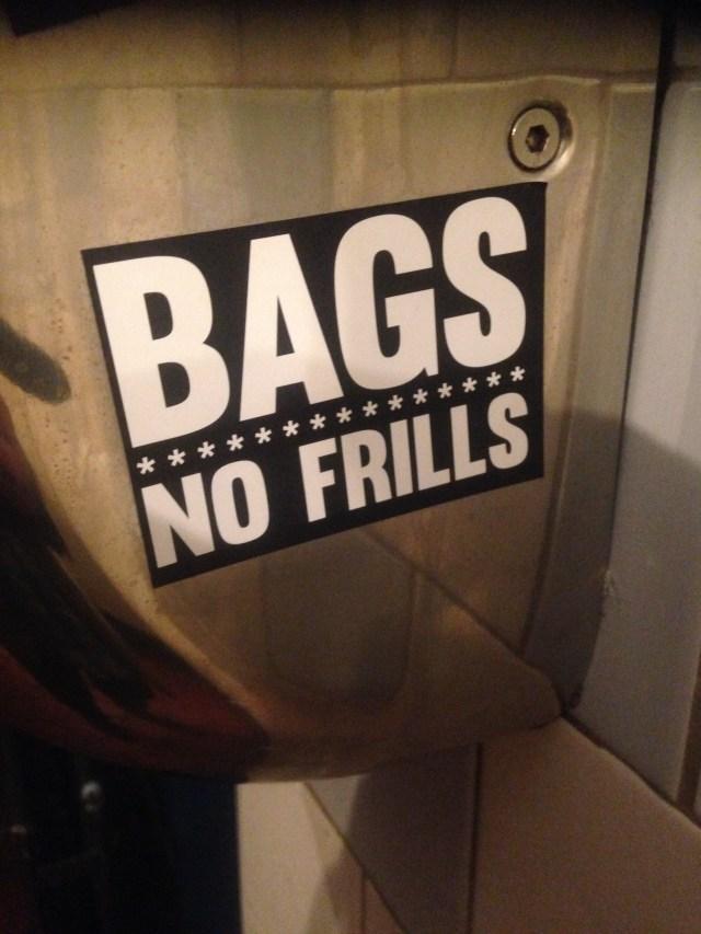 Bags no frills