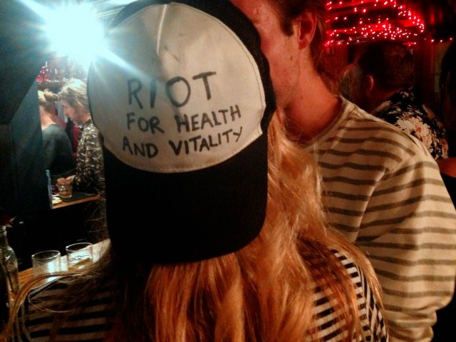 riot for health and vitality