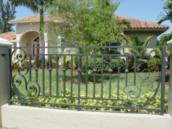 WroughtIron Fences