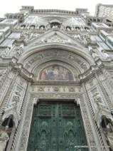 Katedra Santa Maria del Fiore od frontu.