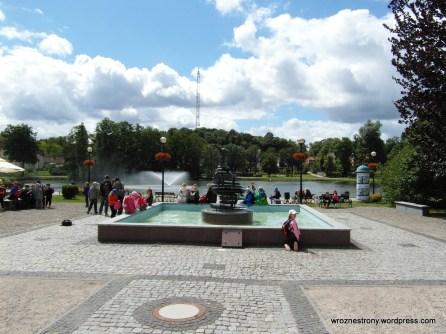 Fontanna przy jeziorku Magistrackim