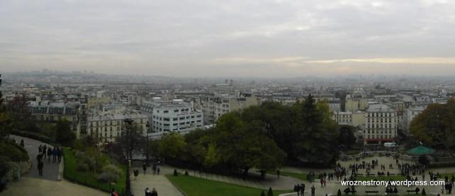 Widok spod Sacré-Cœur