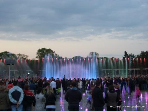 Pokaz fontanny multimedialnej (05.2011)