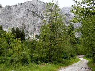 Łatwa trasa w Alpach Julijskich do doliny Tamar
