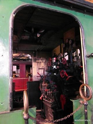 Albo zobaczyć wnętrze lokomotywy