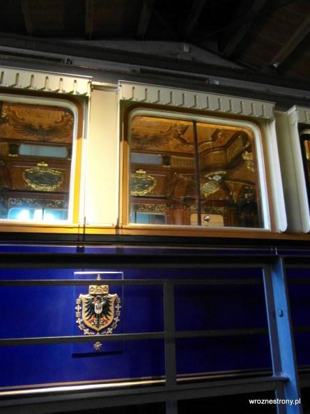 Luksusowy wagon cesarza Wilhelma II