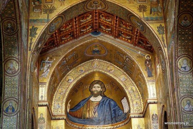 Chrystus Pantokrator katedra w Monreale
