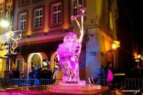 rzeźba lodowa