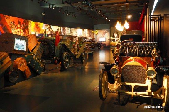Muzeum Motoryzacji w Turynie, luty 2020