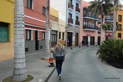 Na uliczkach Puerto de la Cruz