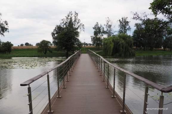 Pomost przez Jezioro Górne w Strzelcach Krajeńskich