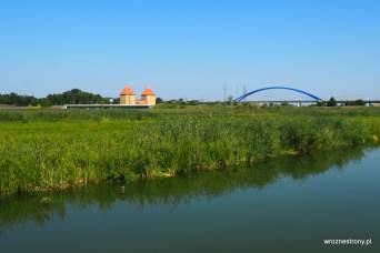 Widok na most na wyspę Wolin