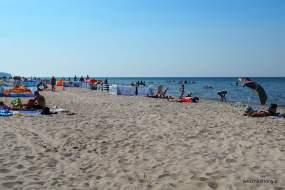 Plaża w Międzywodziu