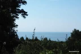 Widok ze Wzgórza Zielonka na Zalew Szczeciński