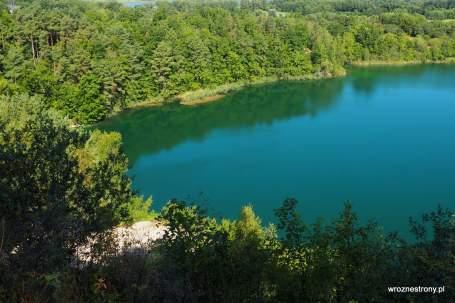 Jezioro Turkusowe na Wyspie Wolin