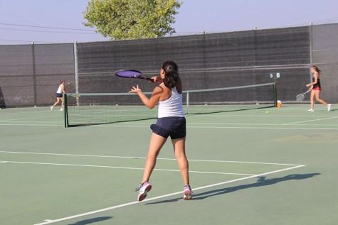 Girls Tennis Wins at Clovis