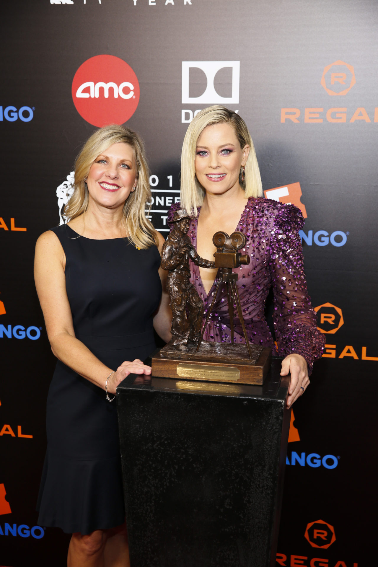 2019 Will Rogers Pioneer of the Year Dinner honoring Elizabeth Banks, Sept. 25, 2019 - Beverly Hills, CA