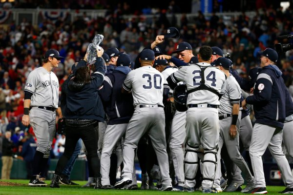 Yankees Sweep Twins, Advance to 17th ALCS - ESPN 98.1 FM - 850 AM WRUF